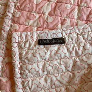 Dwell Studios Childrens Blanket PlayMat Pink White
